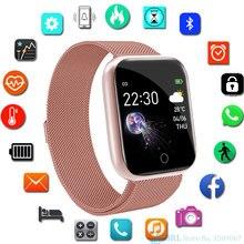 Fashion Square Smart Watch Women Men Sport Watch Electronic