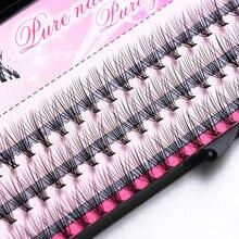 60 pacotes/caixa falso lash extensão 3d cílios individuais extensão cílios profissional cílios maquiagem frete grátis