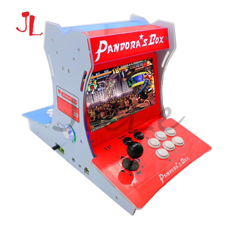 Latest Pandora Box 9D Arcade Game Console Retro Game Machine 2500 In 1 Pause Favorite Function Dual Screen Bartop 2 Players