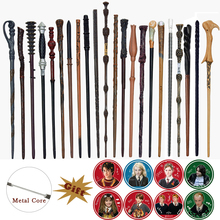 33 Kinds of Wands Colsplay Metal/Iron Core Dumbledore Magical Wand Varinhas Kid Magic Wand No Box with Gift Prop