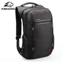 Kingsons-حقيبة ظهر للكمبيوتر المحمول مقاس 13 بوصة ، 15 بوصة ، 17 بوصة ، USB ، مقاومة للماء ، مضادة للسرقة ، للنساء
