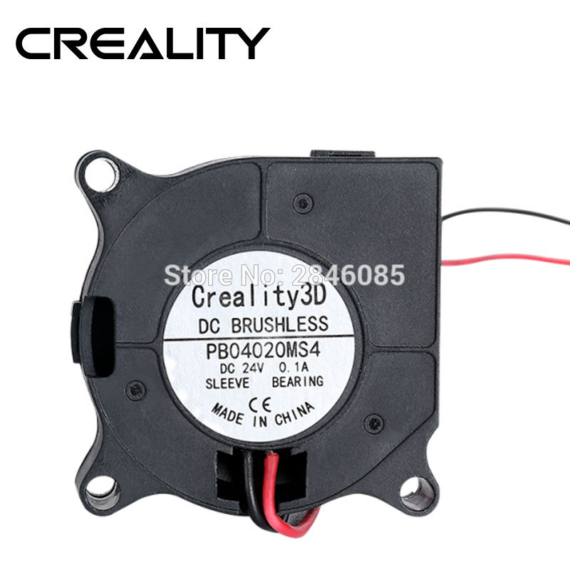 DC24V Cooling Fan CR-10S Pro 4020 Blower Fan 40X20MM For CREALITY CR-10S Pro 3D Printer Parts