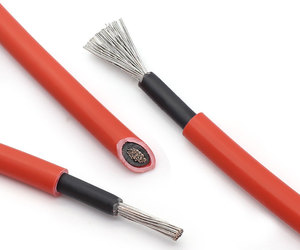 Image 3 - BULSUNSOLAR 10m/roll Solar PV Cable wire 1500V  4mm2/ 6mm2(12/10AWG)  red and black XLPE EN50618 H1Z2Z2 K With TUV