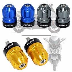Аксессуары для мотоциклов CNC руль шестерни баланс вилка слайдер Ручка Бар торцевые ручки для HONDA Forza 125 250 300