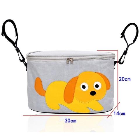 carrinho de bebe organizador sacos fraldas