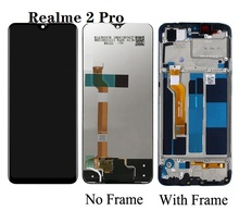 For OPPO Realme 2 Pro LCD Display With Touch Screen Digitizer Assembly Replacement Parts for oppo realme c2 rmx1941 lcd display with touch screen digitizer glass combo assembly replacement parts