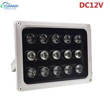 15 шт инфракрасные осветительные приборы для систем видеонаблюдения