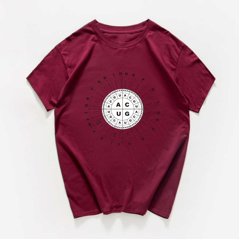 Genetic Code Picture Sarcastic T Shirt Women Biology  Chemistry Science Tshirt Women Cotton Vintage Streetwear Tee Shirt Homme