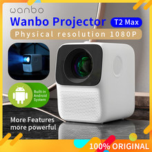 LCD Projector Correction Keystone Vertical Mini Wanbo T2 Global-Version Portable Home Theater