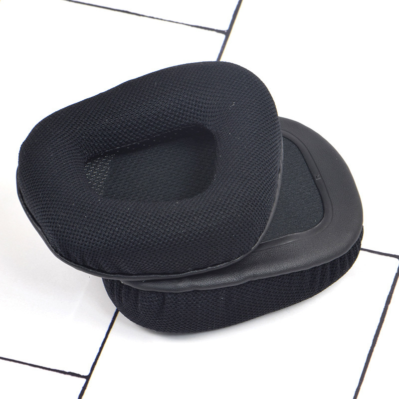 Memory Foam & Mesh Fabric Ear Cushion Pads For Corsair Void PRO RGB 7.1 Gaming Headset Replacement EarPads Black EW#