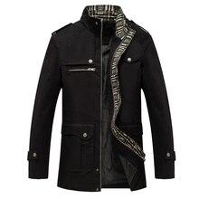 2019 Men Jacket Coat Long Section Fashion Trench C