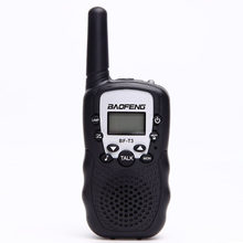 2PCS Black Transceiver Portable Handheld Walkie Talkie Two Way Lightweight PMR GMRS Radio Ham Intercom Outdoor For Baofeng T388(China)