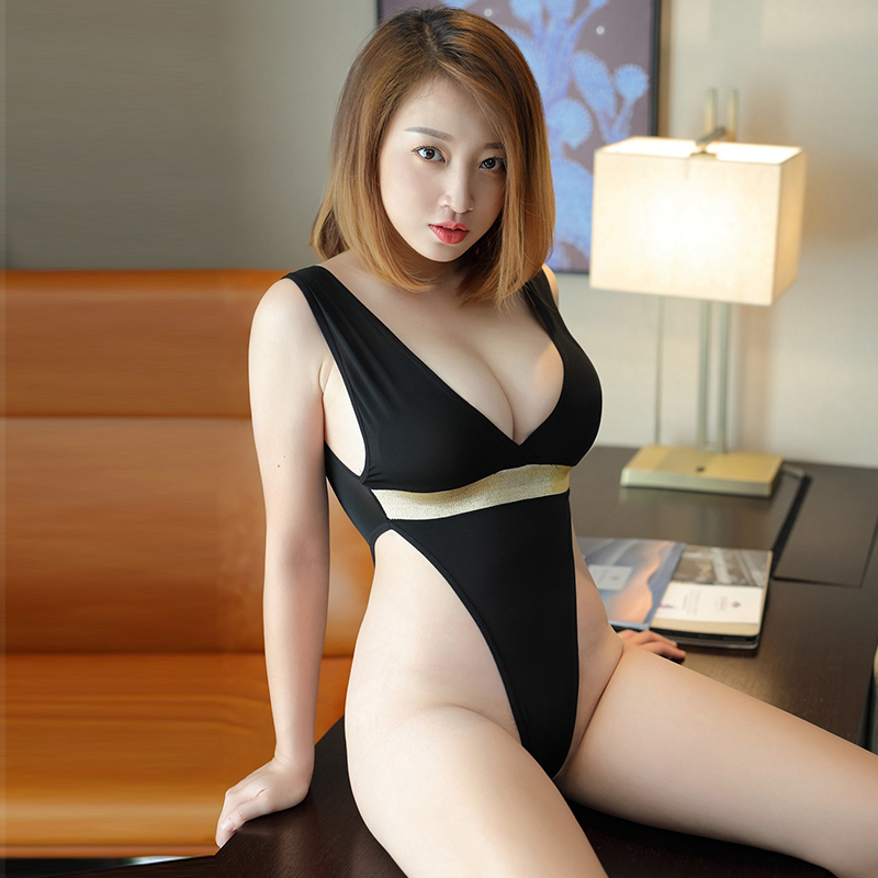 One Piece Bodysuits Transparent Body Slim Jumpsuits Nightclub Party Sex Costume Sexy Backless Deep V-Neck Straps Women Jumpsuit