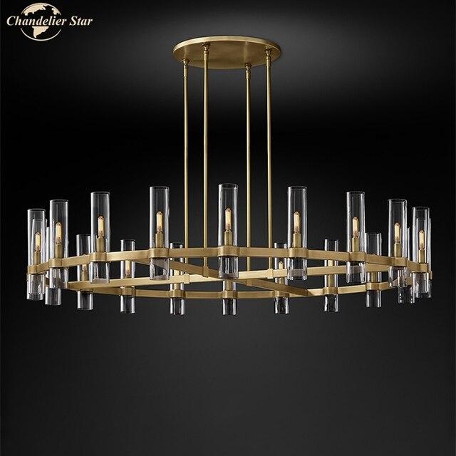 Современные круглсветодиодный ные люстры освещение для гостиной