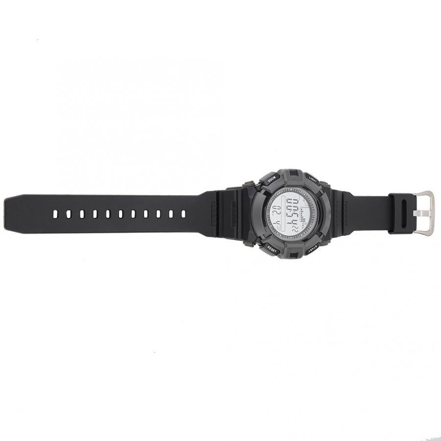 Profissional relógio de peixe digital altímetro barômetro