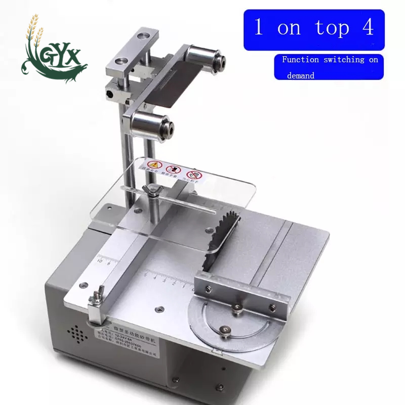 Multi-function micro electric saw/diy small table saw/high precision cutting machine/mini small grinder/woodworking equipment
