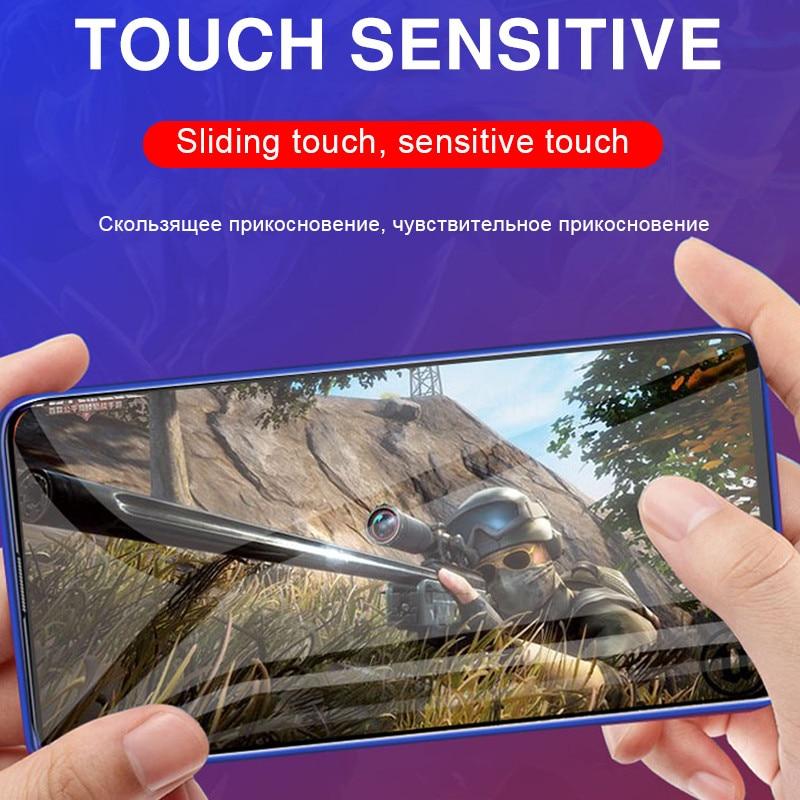 3Pcs 100D Protective Hydrogel Film For Xiaomi Redmi 4X 5A 5 Plus 6A 8 Pro 7A Pro Note 5 8 7 Pro Screen Protector Full Cover Film