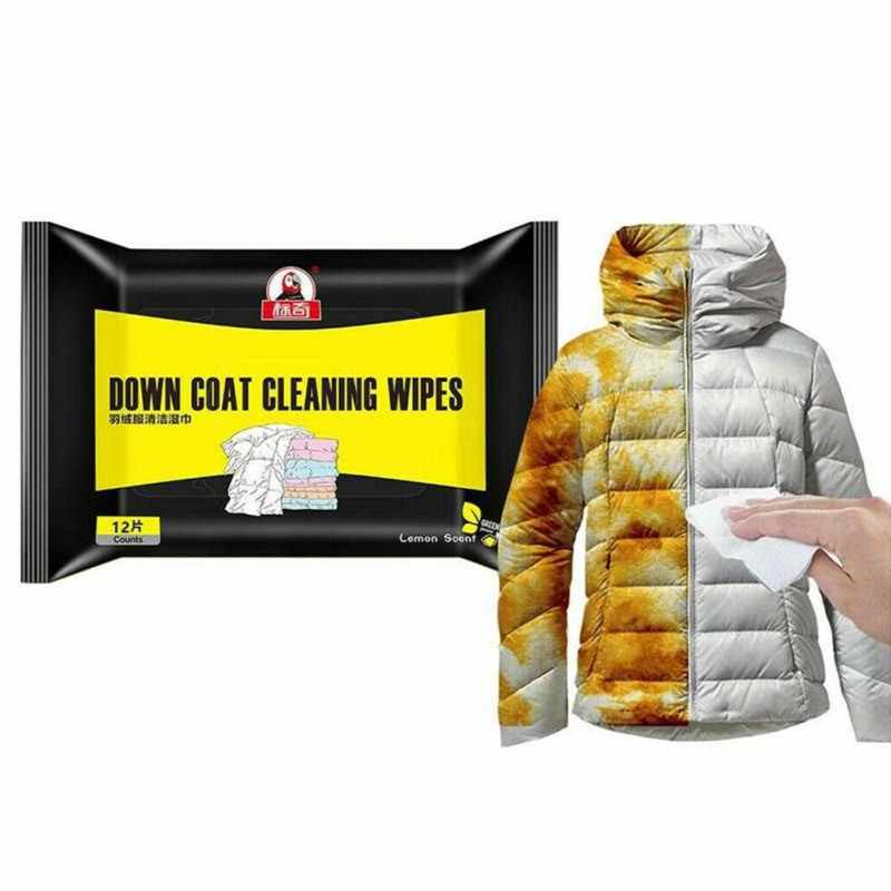 Portatile Imbottiture Giacca Salviette Per La Pulizia Giacca Quick Salviette Per La Pulizia Macchia di Rimozione Salviettine Umidificate I Vestiti di Pulizia Prodotti Per La Cura
