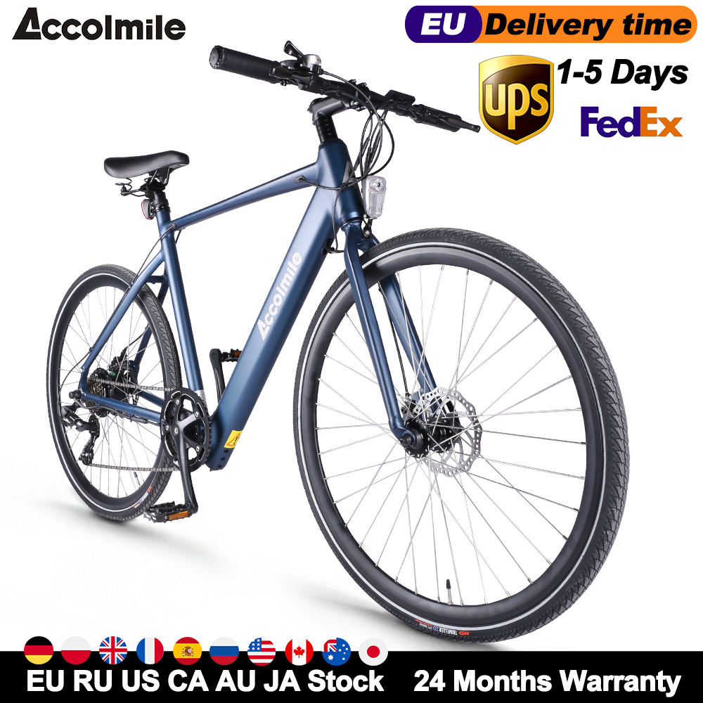 700C Electric Road Bike 70KM Off-road Electric Bicycle 250W with Bafang Motor Samsung Battery Mens Women bicicleta for Adult