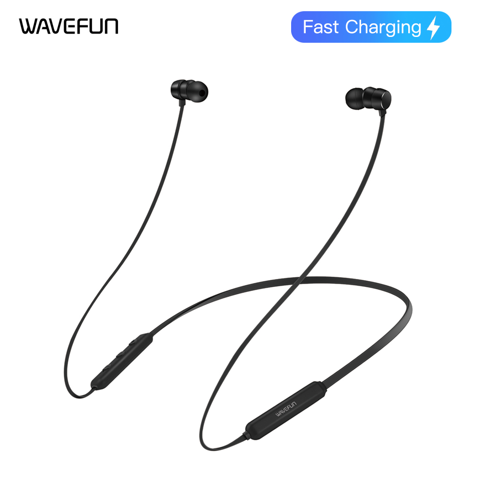 WAVEFUN FLEX PRO BLUETOOTH 5.0 EARPHONE FAST CHARGING