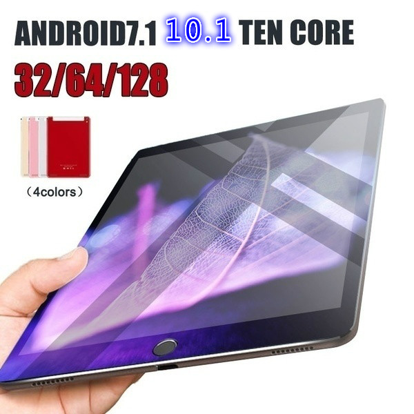 2020 New Google WiFi Tablet PC 10.1 Inch Ten Core 4G Network Android 8.0 1280*800 IPS Screen Dual SIM Dual Camera Kids Tablet