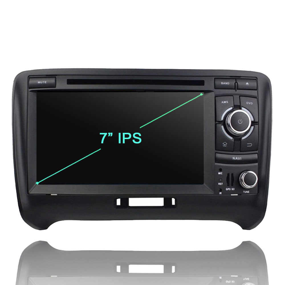 2 din TDA7851 8 núcleo Android 9.0 GB RAM 64 4G ROM DVD Player Do Carro Do Bluetooth 4.2 Para Audi TT 2006-2013 RÁDIO GPS Glonass Mapa TV DVR