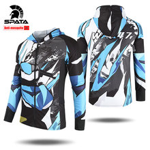 SPATA 2020 New Professional Anti-Mosquito Fishing Shirts Sun Protection Fishing Clothing Anti-UV Long Sleeve Fishing Clothes