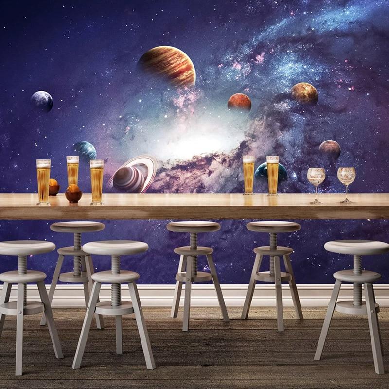 3D постер звездное небо, настенная живопись, современный декор для детской комнаты, спальни, гостиной, фотообои на заказ