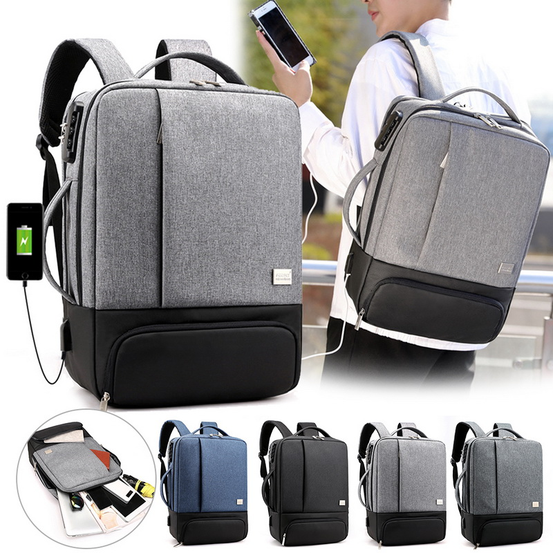 Mens Backpack Laptop Backpacks Anti Theft Male Business Bags Notebook Trip Back Pack Office Women Travel Bagpack