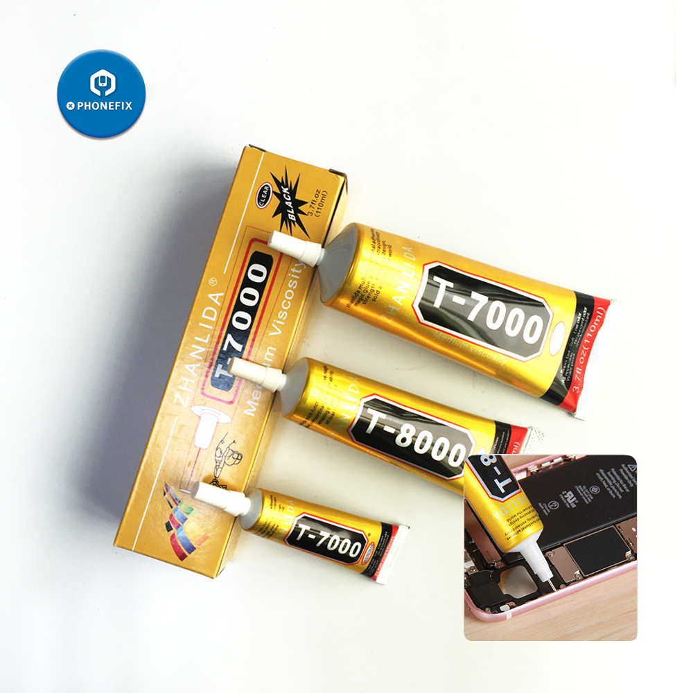 15 50 110ml Adhesive Glue B7000 B8000 T7000 Mobile Phone Repair Adhesive Clear Liquid Glue LCD Touch Screen Frame Super DIY Glue