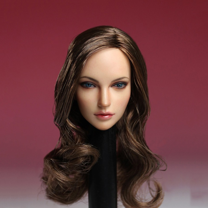 "SUPER DUCK 1/6 European American Female Head Sculpt SDH005 A  For 12"" PHICEN PALE Figure"