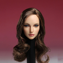 "SUPER DUCK 1/6 European American Female Head Sculpt SDH005 A  For 12"" PHICEN PALE Figure"