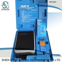 VES-50A 전자 저울 수동 냉매 복구 고정밀 금속 프레온 정량 충진 전자 저울