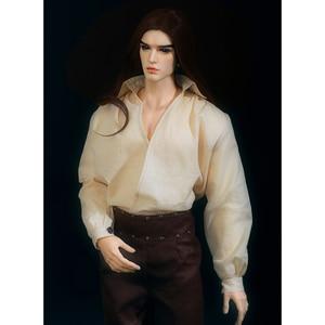 Image 3 - Doll BJD Chandra Fullset Option 1/3 Wild Vintage Long Wig Stylish Male Dreamlover