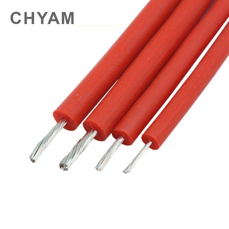 fio macio vermelho da alta tensao do fio de silicone e cabo 10kv 15kv 20kv 20awg
