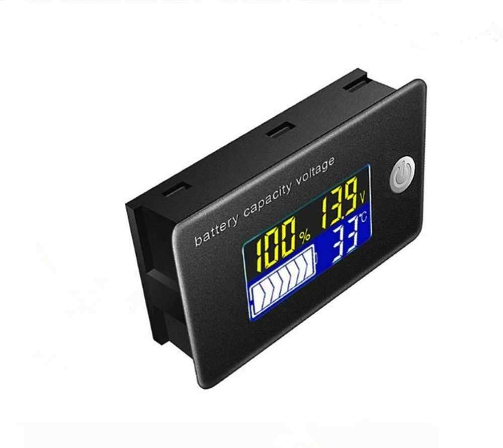 LCD Temperature Meter Dustproof Battery Capacity Indicator Temperature