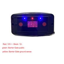 Replace-Loop-Detector Vehicle-Sensor Parking-Lot Barrier Ultrasonic-Radar Infrared Anti-Smashing
