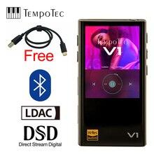 TempoTec çeşitleri V1 Hifi dijital MP3 oynatıcı olmadan Analog ve destekler Bluetooth LDAC giriş ve çıkış USB DAC & amplifikatör
