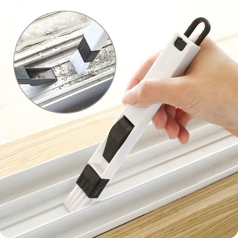 1 комплект! Щетка для чистки дверей и окон Track nook cranny|Чистящие щетки|   | АлиЭкспресс