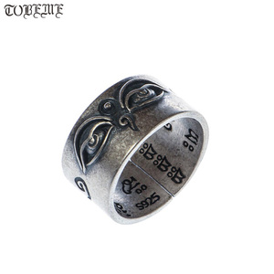 Image 1 - Handgemaakte 925 Zilveren Tibetaanse Wijsheid Ogen Ring Boeddhistische Hemel Ogen Ring Buddha Ogen Ring Resizable
