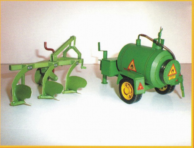 1:32 Czech Zetor 7745-7211 Tractor DIY 3D Paper Card Model Building Sets Construction Toys Educational Toys Military Model 4