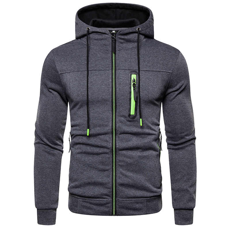 Mens Fashion Hoodies & Sweatshirts Men Hoodies Solid Color Hooded Slim Sweatshirt Male Tops Hoody Hip Hop Itself Streetwear XXL