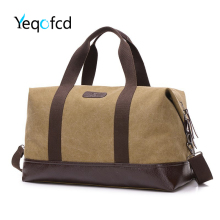 Yeqofcd Women Men Tote Large Travel Duffel Bag Canvas Weekend Bags Overnight Carry On Shoulder Hand Bag With Adjustable Strap