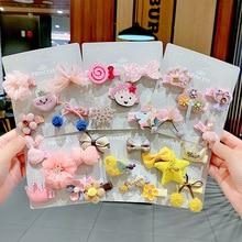 Kids Girls Barrette-Accessories Hairpin Bows Headdress Princess Children for Cartoon