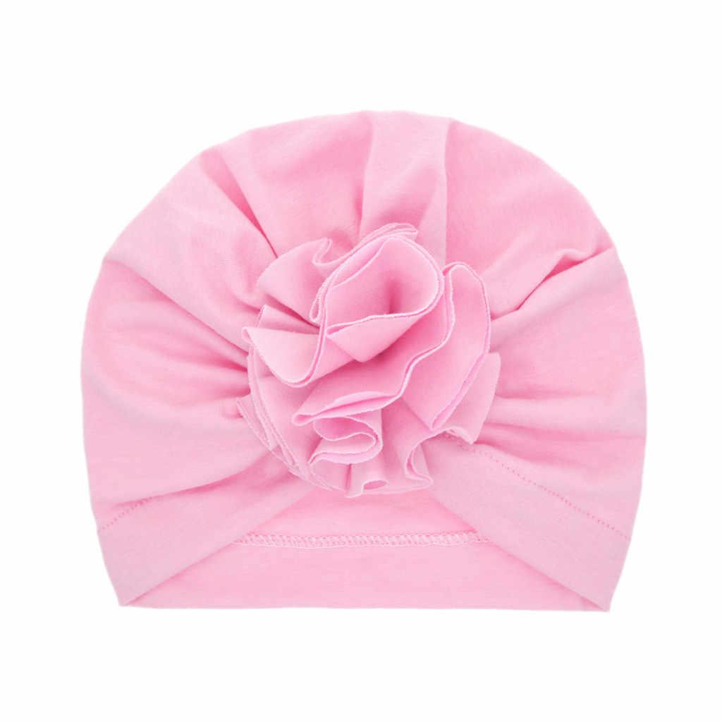 Nowonarodzone dziecko chłopiec dziewczyna stałe wiązane kapelusz Beanie nakrycia głowy czapka akcesoria do kapeluszy cieplej czapka kapelusz nauszniki świąteczne nakrycia głowy # E25