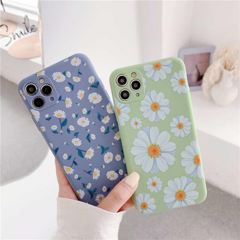 Fashion Art Floral Soft Phone Case For Xiaomi Mi 10 Pro 10 Lite Back Cover For Redmi Note 9S 9 Pro Max Redmi K30 Pro Cover Cases