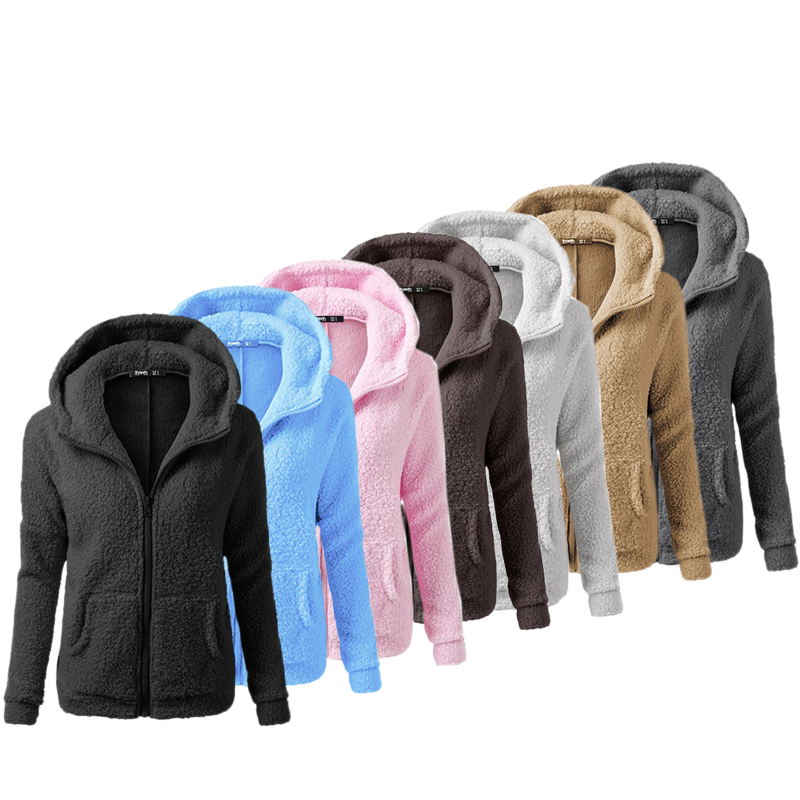 LASPERAL Gilet Cardigan Femmes avec Capuche Veste en Tricot Chaud Hiver Pull Tricot/é Casual Bouton Gilet Grosse Maille Outwear Blouson Chandail Sweater Outwear
