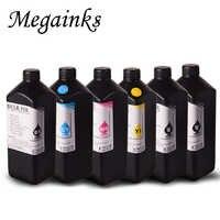 1000ML de tinta UV Para Epson DX5 DX7 DX9 DX10 XP300 XP600 TX800 cabeçote 1500W R3000 R330 1400 1410 1430 impressora UV