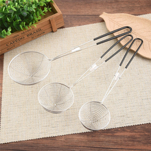 New Skimmer Stainless Steel Cookware Net Mesh Ladle Fishing Line Leak Spoon Spicy fried Noodle Strainer Tool Kitchen Utensil