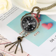 Buy Ball Shape Pocket Watch Calf Eye Design fob Watches Roman Numeral Black Dial Nacklace Watches Men Women Gift orologio da tasca directly from merchant!
